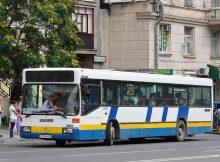 Автобус №35а в ЖК Платовский