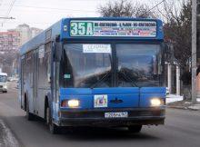 Автобус 35а в ЖК Платовский