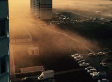 Туманный вид ЖК Платовского