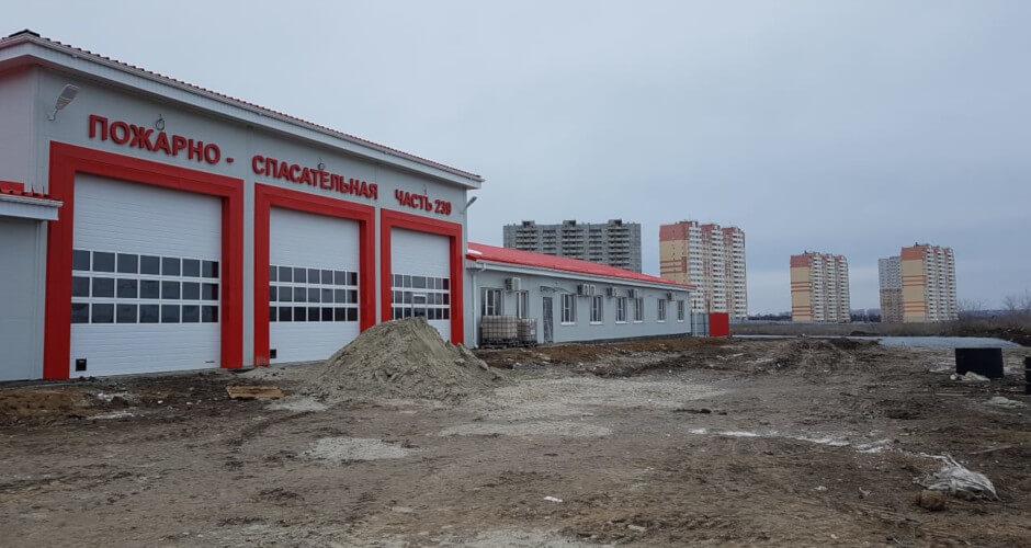 Пожарная часть в ЖК Платовский