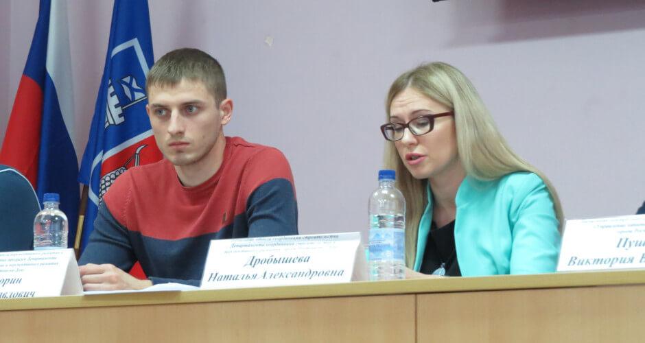 Говорит Наталья Дробышева