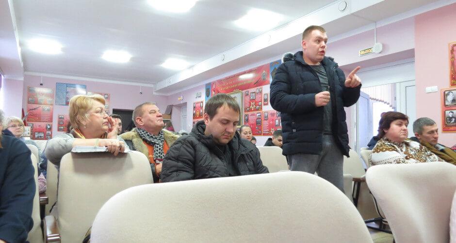 Житель ЖК Платовский задает вопросы