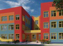 Схема первого детского сада в ЖК Платовский